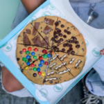 Pizza Shaped Cookies